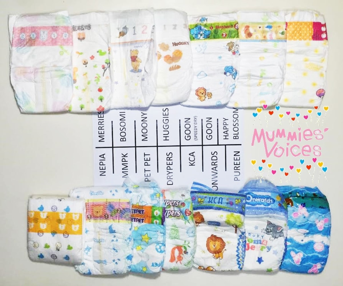 [REVIEW] The Diaper Challenge – 14 Brands of Small Size ...
